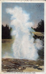 [ Linen ] US Wyoming Yellowstone - Minute Man Geyser
