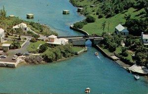 Bermuda - Somerset. World's Smallest Drawbridge