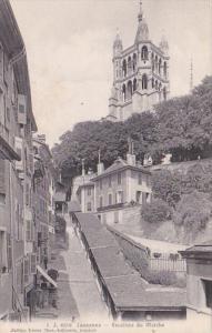 Switzerland Lausanne Escaliers du Marche