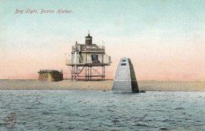 BOSTON HARBOR, Massachusetts, 1901-07; Bug Light, Lighthouse # 3