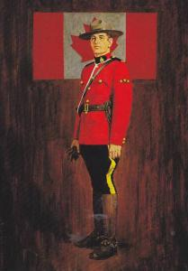 Royal Canadian Mounted Police, Present review Uniform , Canada , PU-1988