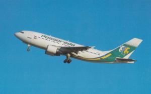 Airbus Industrie A310-322 of Passaredo Aereos at Sao Paulo Airport Postcard