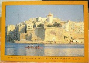 Malta Training for Regatta Day The Grand Harbour  - posted