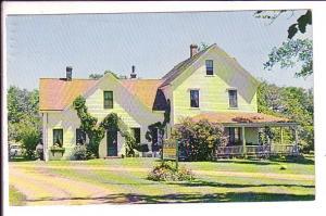 Strathgartney Homestead Prince Edward Island, Canada, Charlottetown, Cancel 1970