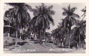 Panama Ancon Street Scene Real Photo