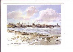 Harris Point, Watercolour, Nova Scotia, Canada,