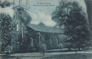NIAGARA ON THE LAKE, Ontario, Canada, 1900-1910's; St. Mark's Church