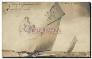 PHOTO CARD Boat Sailboat