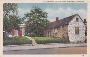 Washingtons Headquarters Winchester Virginia