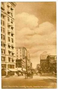 Fourth Ave.,Looking South,Seattle,Washington, 00-10s