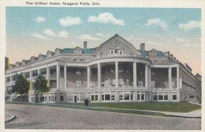 NIAGARA FALLS , Ontario , Canada , 1900-10s ; The Clifton Hotel
