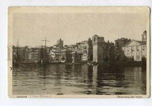 3132766 ITALY SAVONA Panorama dal mare Vintage postcard