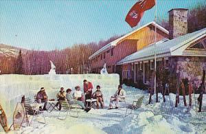 Skiing , Lac Ouimet Club , St. Jovite, Quebec , Canada , 50-60s