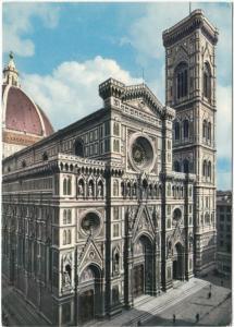 FIRENZE, Cattedrale - Facciata e Campanile, unused Postcard