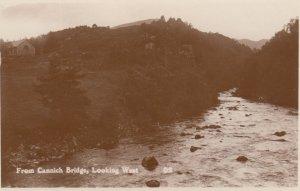 RP: From Cannich Bridge, Scotland, UK, 1920-40s