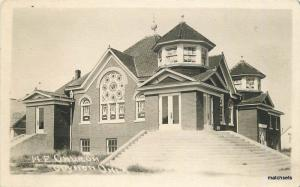 C-1910 ME Church Guymon Oklahoma Panhandle RPPC real Photo postcard 9651