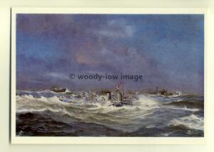 na0308  - Royal Navy Warship - HMS Wallace - postcard