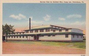 Service Club For Enlisted Men Camp Lee Petersburg Virginia
