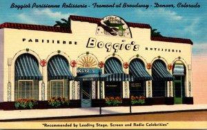Colorado Denver Boggio's Parisienne Rotisserie Restaurant