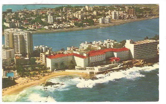 Condado Beach Hotel Puerto Rico 40 60s