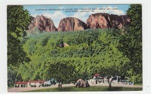 P2223, vintage postcard mexico chipinque mountain monterrey