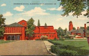 Michigan Bloomfield Hills Cranbrook School