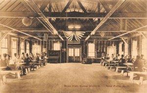 Vintage USA c1907-15 Postcard Camp Wallkill Mess Hall New Platz NY New York 48Y