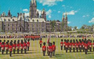 Canada Changing Of The Guard At Parliament Hill Ottawa Ontario