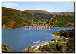 Modern Postcard Les Beaux Sites de France alk and clud Nautique de Villefort