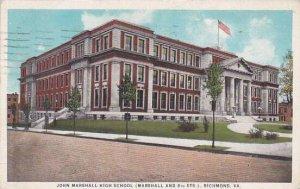 Virginia Richmond John Marshall High School 1928