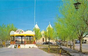 Mesilla New Mexico~The Plaza~Band Stand~Gadsden Purchase Treaty~1950s Cars~PC