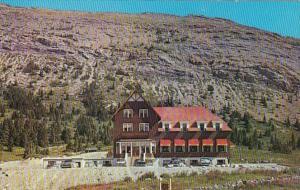 Canada Jasper-Banff Highway Columbia Icefield Chalet