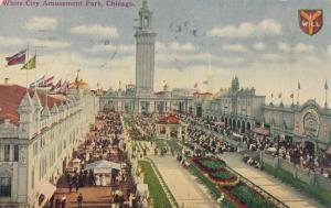 CHICAGO , Illinois , PU-1911 ; White City Amusement Park