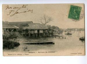 147195 VIETNAM SAIGON Cholon 1905 Vintage RPPC