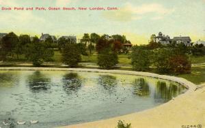 CT - New London - Ocean Beach, Duck Pond and Park