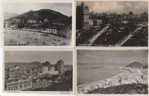 Rio De Janeiro Buenos Aires 4x Panorama Real Photo Old Postcard s