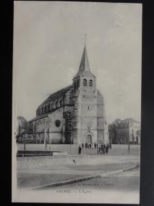 WW1 AUCHEL L'Eglise c1915