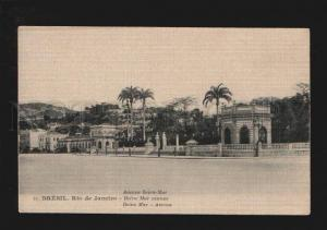 074144 BRASIL Brezil Rio de Janeiro Beira Mart avenue Vintage