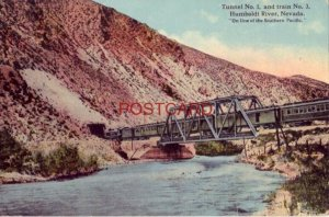 TUNNEL No. 1 AND TRAIN No. 3, HUMBOLDT RIVER, NEVADA