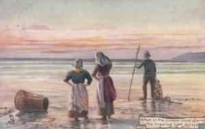 Fishermen , 1905 ; TUCK 9074