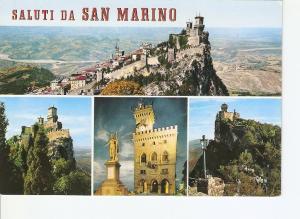 Postal 022219 : Saluti da San Marino