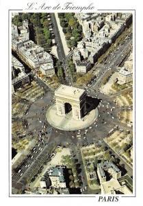 France Paris, L'Arc de Triomphe, Place Charles de Gaulle, Triumph Arch Square