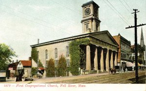 MA - Fall River. First Congregational Church