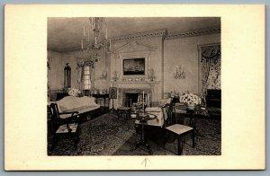 Postcard Winterthur DE c1960s Parlor From Port Royal Frankford Pennsylvania 1762