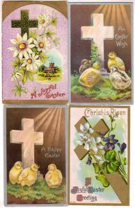 4 - Easter Cards with Crosses
