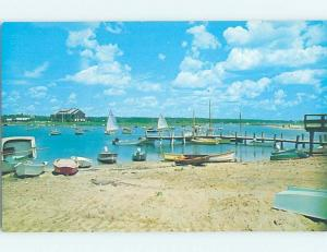Unused Pre-1980 BEACH SCENE Weekapaug In Westerly Rhode Island RI G5551