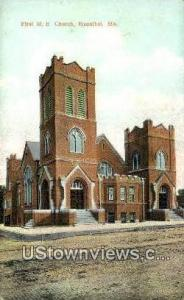 First ME Church Hannibal MO Unused