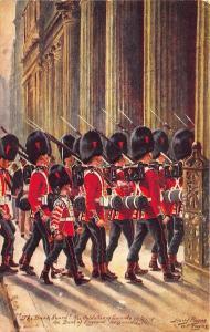 Raphael Tuck Harry Payne Military in London Series III #6 Postcard
