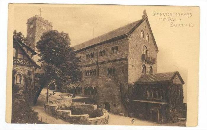 Landgrafenhaus mit Bad u. Bergfried, Germany , 1890s