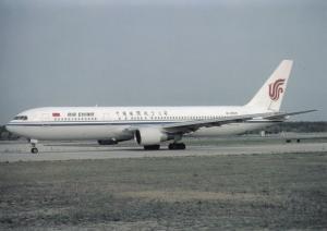 AIR CHINA, Boeing 767-3J6, unused Postcard